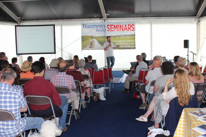 Seminars at Crick Boat Show