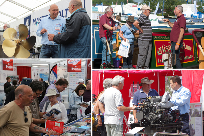 Crick Boat Show exhibitors